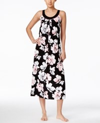 Alfani Floral Print Knit Nightgown Only At Macy's Shadow Floral