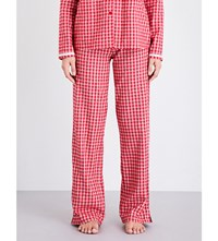 Calvin Klein Check Pattern Cotton Flannel Pyjama Bottoms Nn3 Transformation Check