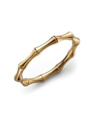 Gucci Bamboo 18K Yellow Gold Small Bangle Bracelet