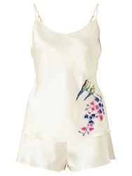 John Lewis Somerset By Alice Temperley Wisteria Camisole And Short Set Ivory Multi