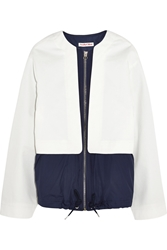 See By Chloe Shell Paneled Cotton Twill Jacket