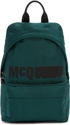 Mcq By Alexander Mcqueen Green Classic Backpack