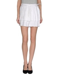 Joseph Mini Skirts White