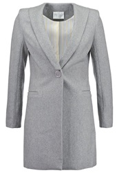 Anonyme Designers Short Coat Light Grey