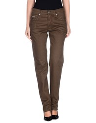 Harmontandblaine Trousers Casual Trousers Women Khaki