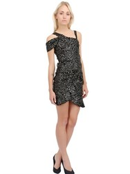 Isabel Marant Sequined Silk Organza Draped Dress