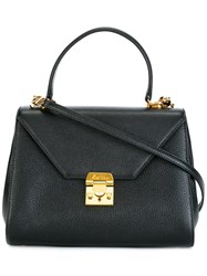 Mark Cross 'Hadley' Tote Black