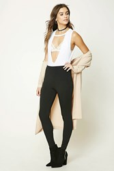 Forever 21 High Waist Stretch Knit Pants