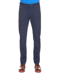 Berluti Five Pocket Denim Pants Blue