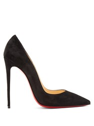 Christian Louboutin So Kate 120Mm Suede Pumps Black