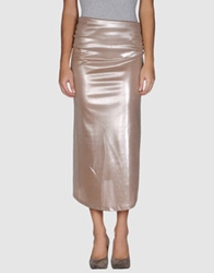 Martine Sitbon 3 4 Length Skirts Skin Color