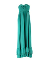 Just For You Dresses 3 4 Length Dresses Women Green