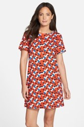 Felicity And Coco Print Jersey Shift Dress Multi