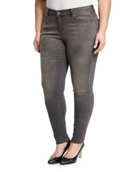 Five Pocket Skinny Jeans Gray