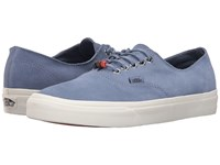 Vans Authentic Decon Suede Infinity Blanc De Blanc Skate Shoes Blue