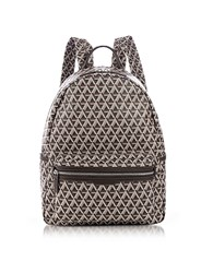 Lancaster Paris Ikon Brown Coated Canvas Men's Backpack