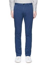 Paul Smith Cotton Twill Chinos Blue