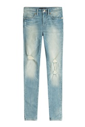 Juicy Couture Distressed Skinny Jeans Blue