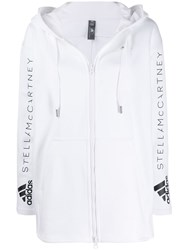 Adidas By Stella Mccartney Oversized Track Jacket White
