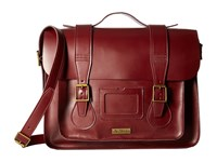 Dr. Martens Leather Satchel Cherry Red Satchel Handbags