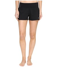 Nike Core Solid Seperates Swim Boardshorts Black Women's Swimwear