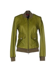 Jacob Cohen Jacob Coh N Coats And Jackets Jackets Women Green