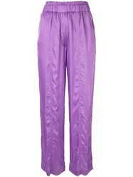 Manning Cartell Off Duty Trousers Purple