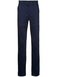 Cerruti 1881 Regualr Fit Trousers Blue