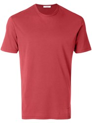 Paolo Pecora Short Sleeve T Shirt Red