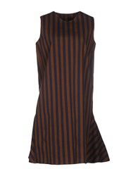 Ter Et Bantine Dresses Short Dresses Women Brown