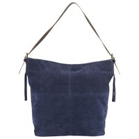 East Cut Out Slouchy Bag Blue