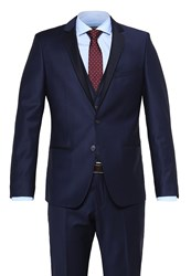 Karl Lagerfeld Suit Dark Blue