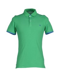 Fay Topwear Polo Shirts Men Green