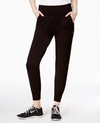 Tommy Hilfiger Sport Cropped Jogger Pants A Macy's Exclusive Black