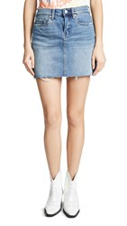 Blank Denim Two Faced Denim Skirt