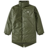 Adidas Long Fill Parka Green