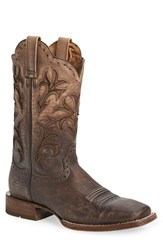 Ariat Men's 'Cowboss' Cowboy Boot Ombre Chocolate Leather