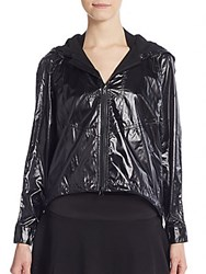 Rebecca Minkoff Livingston Windbreaker Jacket Black