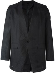 Odeur 'Canvas' Blazer Black