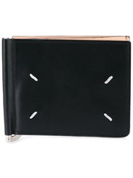 Maison Martin Margiela Tri Fold Cardholder Wallet Men Calf Leather One Size Black