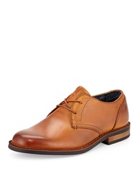 Penguin Waylon Lace Up Leather Oxford English Tan
