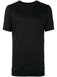 Devoa Short Sleeve T Shirt Black