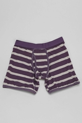 Urban Outfitters Grey Rugby Stripe Boxer Brief