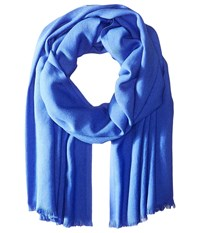Love Quotes Rayon Eyelash Scarf French Blue Scarves