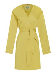 Cloud Nine Lightweight Hooded Wrap Jacket Yellow