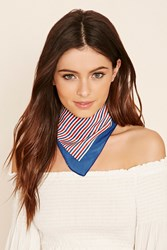 Forever 21 Striped Square Scarf