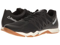 Reebok Crossfit Speed Tr Black Ash Grey Classic White Rubber Gum Pewter Men's Cross Training Shoes