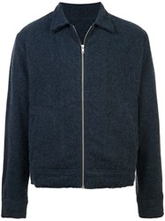 The Elder Statesman Shirt Jacket Blue