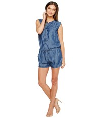 Mavi Jeans Cecil Romper Mid Tencel Women's Jumpsuit And Rompers One Piece Blue