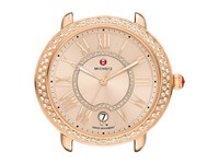 Michele 16Mm Serein Diamond Rose Gold Beige Diamond Dial Rose Gold Watches